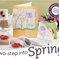 2-Step Into Spring Stampin' Up! Sale