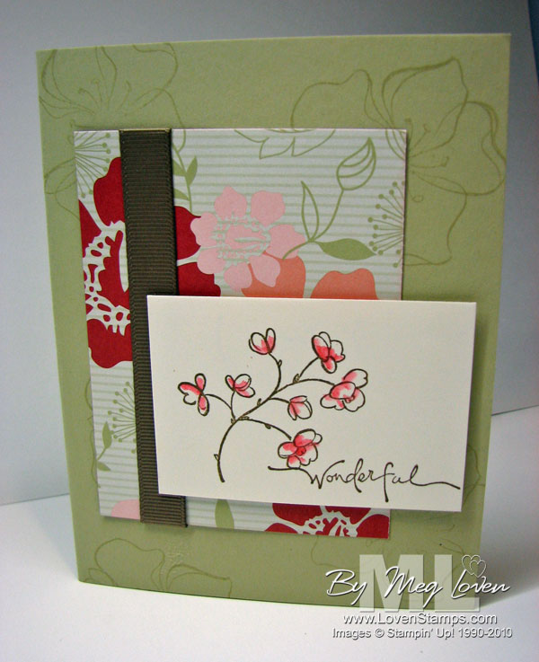 Embrace Life Stampin Up Card Ideas