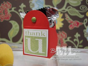 petal card punch candy idea cute by the inch hostess set