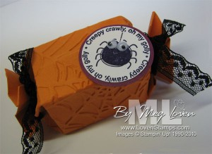 candy wrapper big shot tutorial box halloween gift