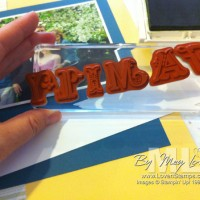 Clear Mount Stamps: Clearly the Choice for Alphabets
