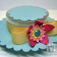 Easter Bonnet Candy Favor Box