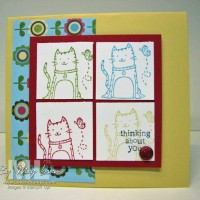 Here Kitty Kitty: Colorblock Techniques