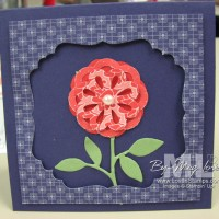 Triple Layer Punch Tour: Blossom Bouquet Frame