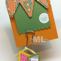 Petite Pennant Builder Punch: Photo Holder
