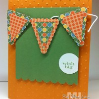 Petite Pennant Parade Punch Pieces: good for all occasions