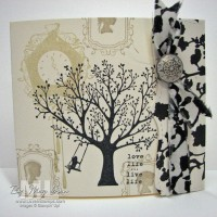 Forever Young: Top Note Tab Card
