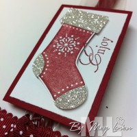 Stitched Stocking Christmas Candy Treats
