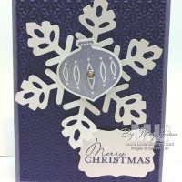 A Purple Christmas Card?  Sure… it's a Contempo Christmas
