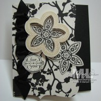 Triple Treat Flower: An Unusual Shaker Frame Card