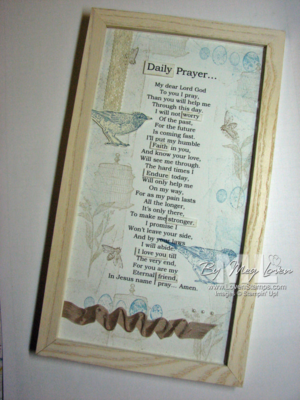 Daily Prayer: Nature Walk inspirational gift idea