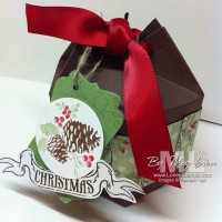 Merry Milk Cartons: 6 panel gift boxes