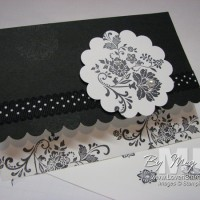 Monochromatic Cards: Fresh Vintage in Black & White