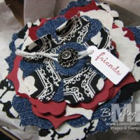 Retiring List Rewind: Tiny Tags and Fabric Flowers