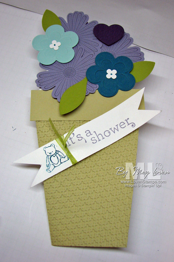 flower pot baby shower invitation idea packed for baby