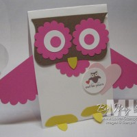 Whoo Loves You: a Valentine Card