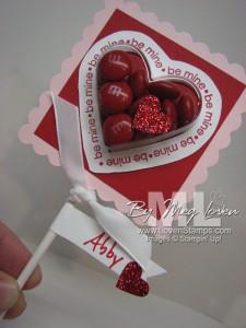 Heart Sweet Treat Cups - Valentine Class Treat Idea