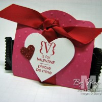 If Stamping is Fun, then Stamping with Chocolate is BETTER