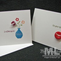 Cutest Stamp Set Ever: Button Buddies