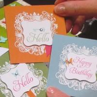 Elementary Elegance: Sweet & Simple Embossed Notes
