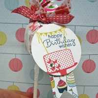 Bake, Make & Take A Cake: Birthday Tags