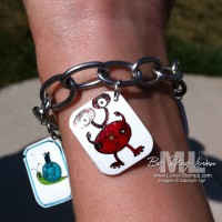 Make Your Own Charm Bracelets: Stamping Style!