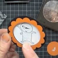 Ghoulish Googlies Video Tutorial: Scallop Circle Frames