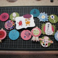 Summer Scrap Camp: Locker Magnet Creations