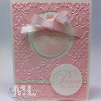 Pretty in Pink: Ornament Keepsakes Christmas Idea