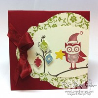Mr Owl Decorates His Tree: Owl Occasions