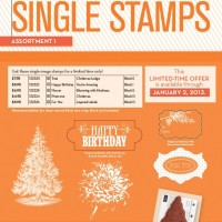 Single Stamps – an answer to your wishes!