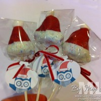 Owl Occasions: Christmas Tags for Cake Pops