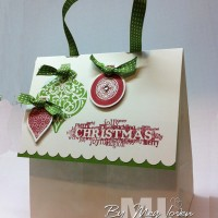 Gift Bag Video Tutorial: Last Minute Ideas for Christmas