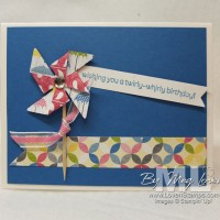 Whirly-Twirly Pinwheel Cards: for FUN birthdays