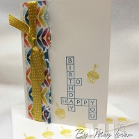 Cross My Heart: Sweet & Simple Birthday Card