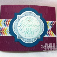 Window Framelits Buckle Card: Video Tutorial