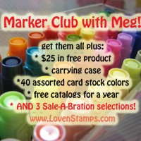 Stampin' Write Marker Club with Meg