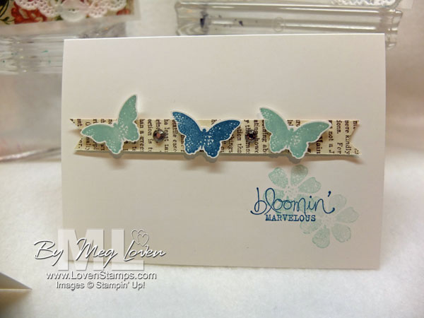 Bloomin Marvelous: Itty Bitty Butterflies, clean & simple card ideas