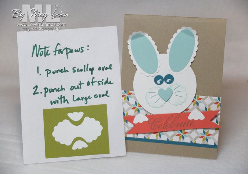 easter bunny punch art tutorial