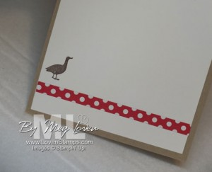 Million Dollar Moments Goose from Stampin' Up