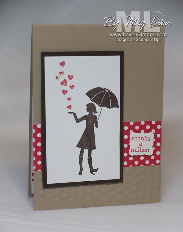 Million Dollar Moments hostess stamp set - add Dazzling Diamonds with 2-Way Glue Pen for iridescent rain drops