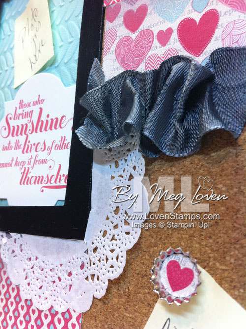 Make a Ruffled Ribbon embellishment