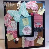 Swallowtail Pinboard: Easy with Artisan Embellishments