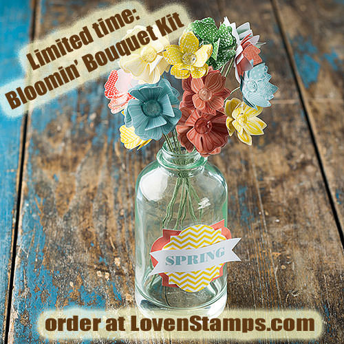 Bloomin Bouquet Project Kit: everything you need for a Mother's Day or Teacher Appreciation Gift Gift