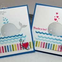 Oh Whale: How To Fold A Card (and keep the white inside!)