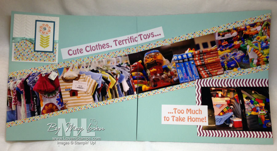 OWB kids consignment sale - scrapbook celebration  of 10 years