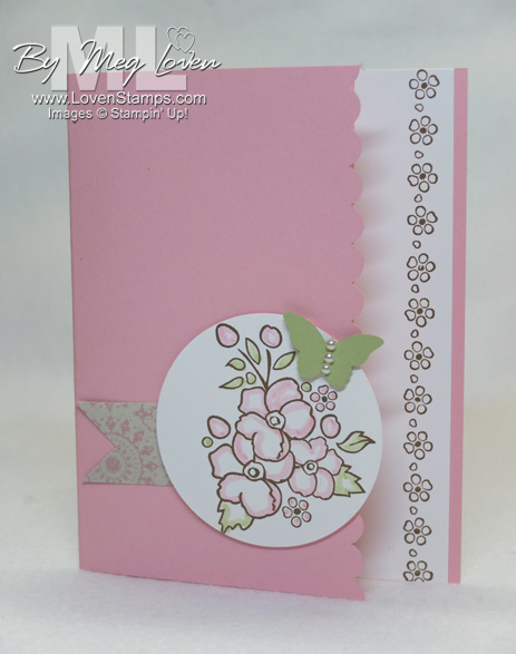 Bordering on Romance: fun fold card edge idea