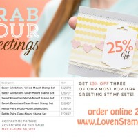 Grab Your Greetings: 25% off special