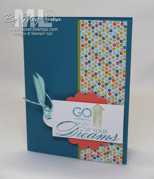 Graduation card idea: Go confidently in the direction of your dreams (Word Play set)