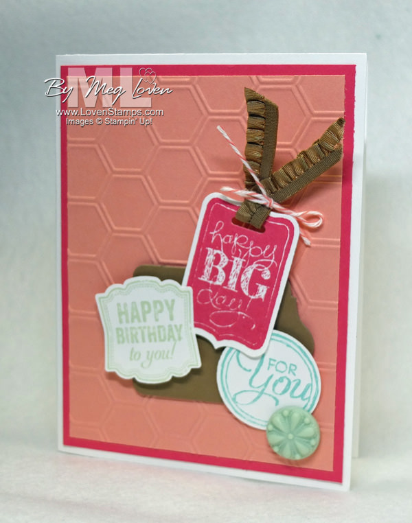 Chalk Talk & Label Love: perfect with new In Colors for a summer birthday